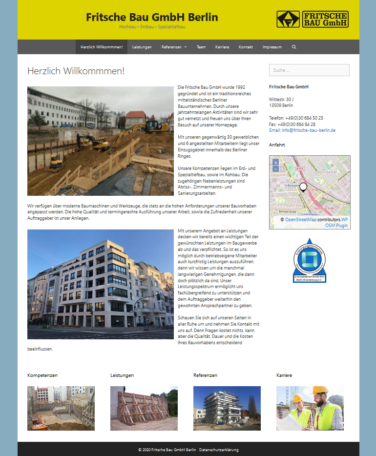 Fritsche Bau GmbH Berlin